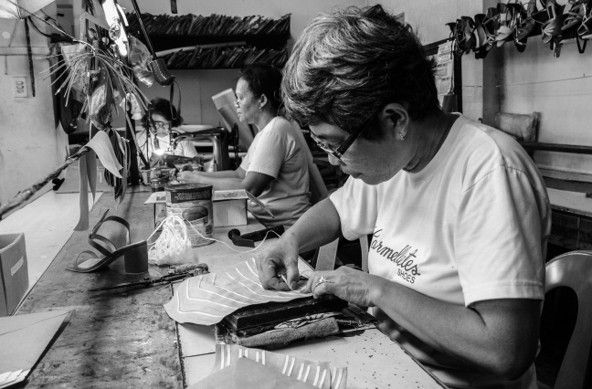 Shoemaker in Marikina